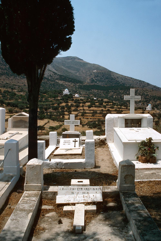cemetary Cemetery, Sifnos, Greece, 1992