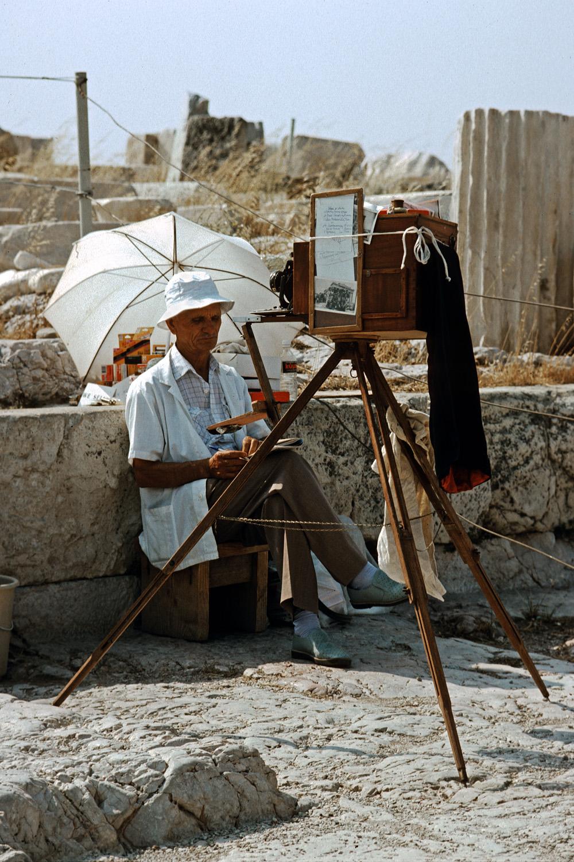 photographer Photographer,  Athens Acropolis, Greece, 1992