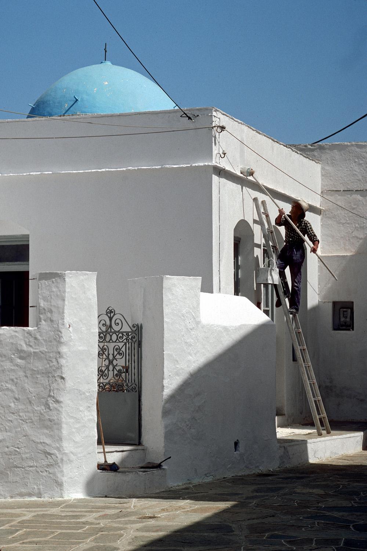 whitewash Whitewash,  Sifnos, Greece, 1992