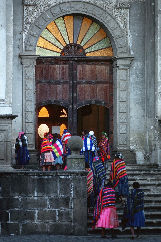 churchwomen Church Women,  Antigua, Guatemala, 1978