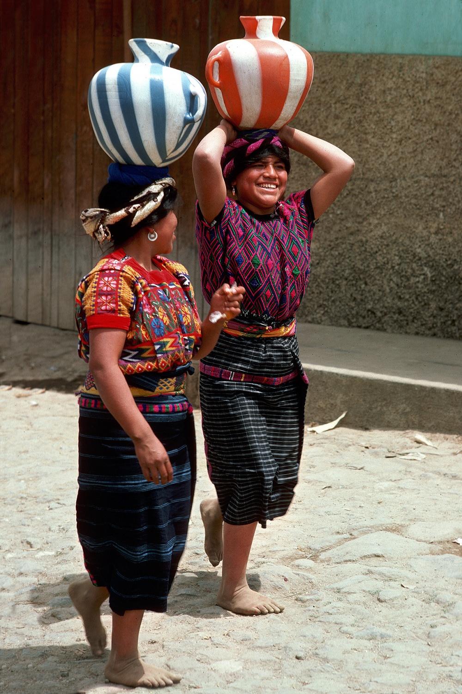 twojugs Water Jugs,  S. Maria de Jesus, Guatemala, 1978