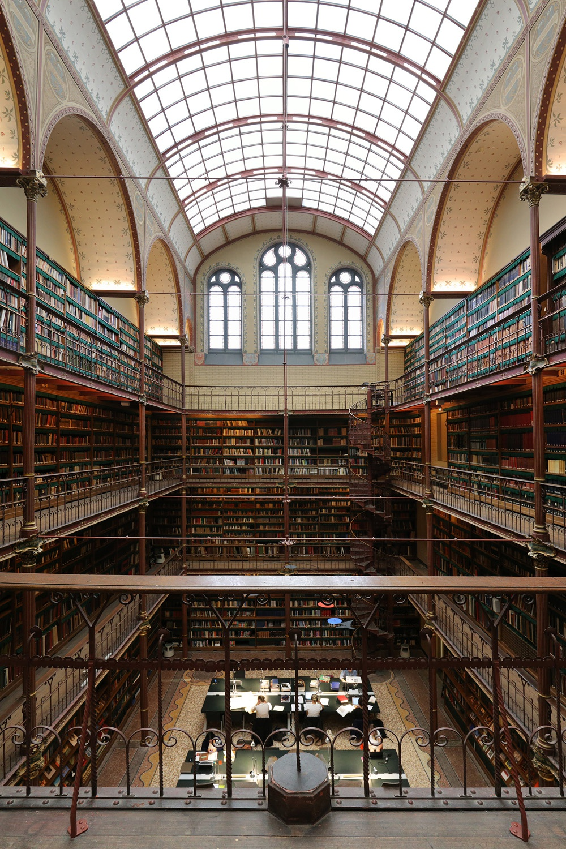 rijkslibrary Rijksmuseum Library,  Amsterdam, Holland, 2016