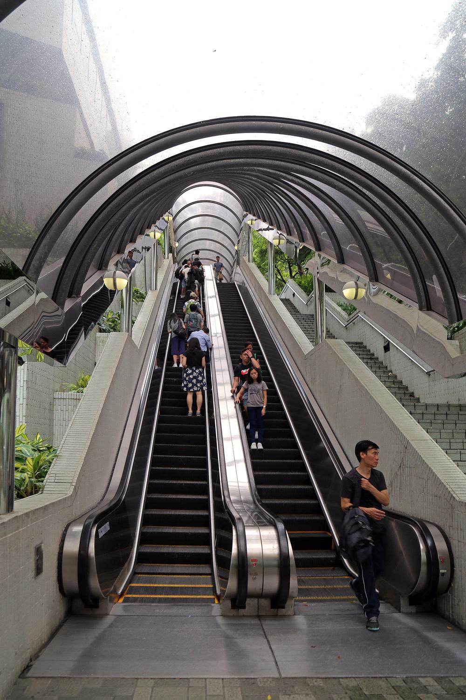 17-escalator Outdoor Escalator,  Central,  Hong  Kong, 2017