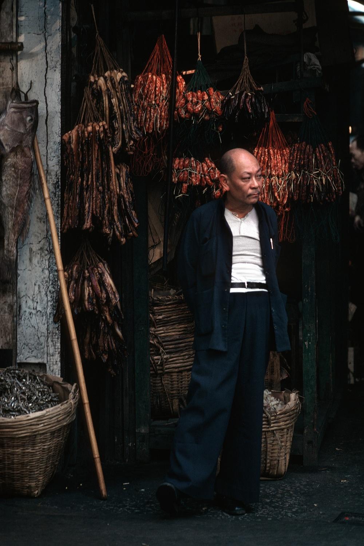 driedmeat Central, Hong Kong, 1979