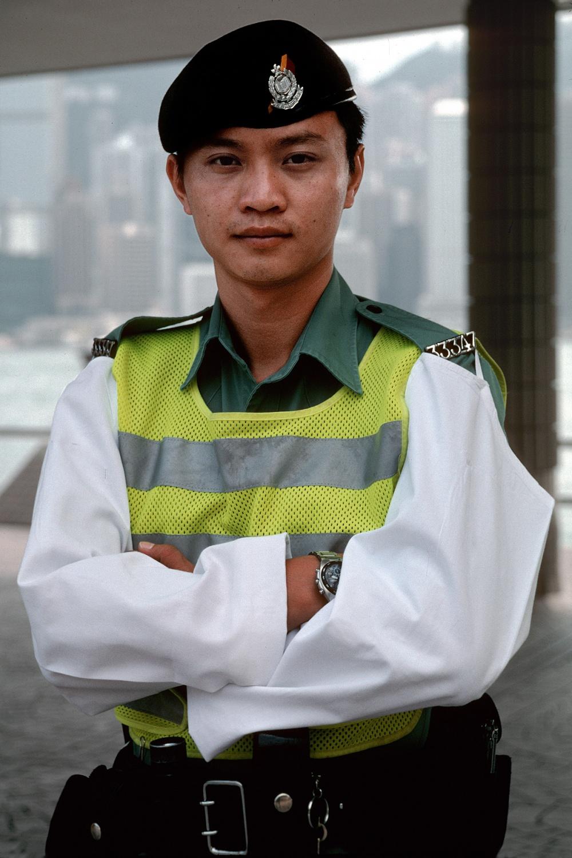 hongkongpolice Kowloon, Hong Kong, 2002