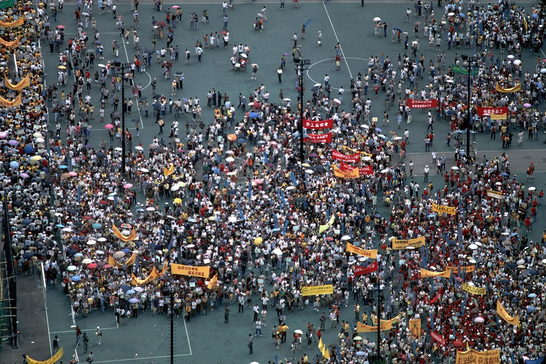 rallycroud Union Rally,  Victoria Park, Hong Kong, 2002