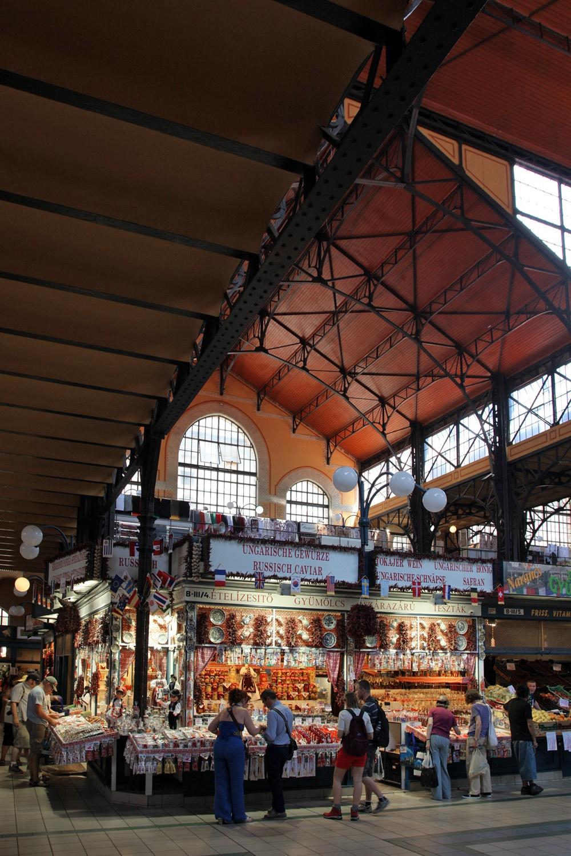 caviarstand Great Market Hall,  Budapest, Hungary, 2013