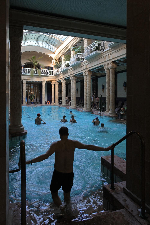 gellertpool Gellert Baths,  Budapest, Hungary, 2013