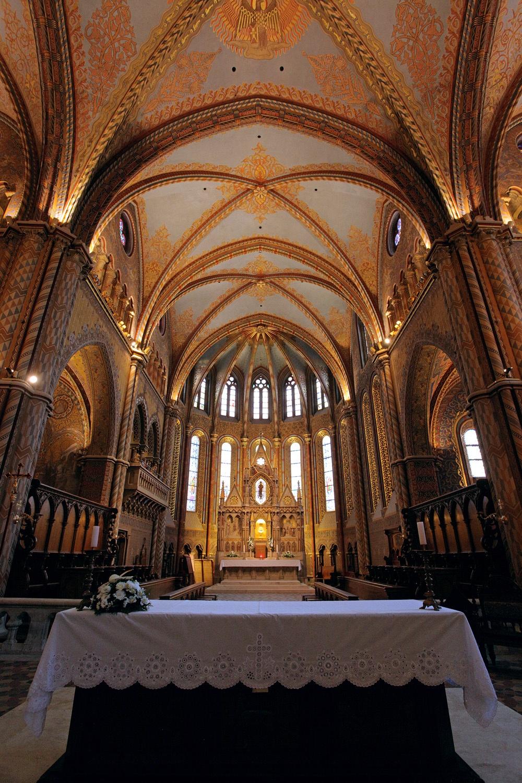 matthiasaltar Matthias Church,  Budapest, hungary, 2013
