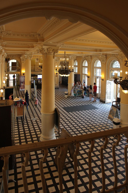 westlobby Lobby,  Szechenyi Baths,  Budapest, Hungary, 2013