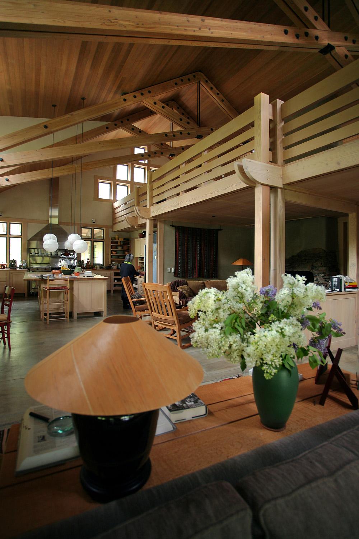 interior Our Hosts' House, Below Ketchum, Idaho, 2008