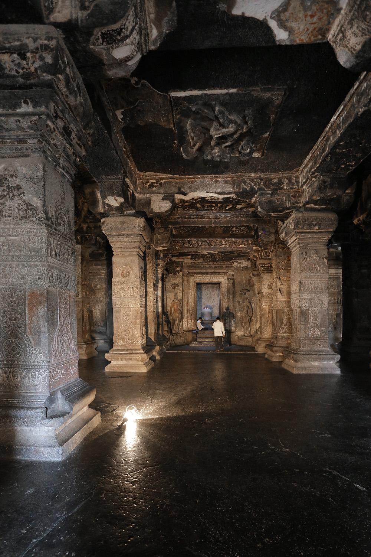 18-ellora16C Kailasa Temple,  Cave 16,  Ellora, India, 2018