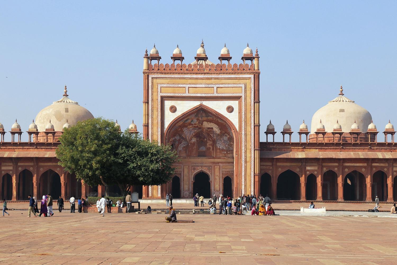 18-fatehpurmosque Jama Masjid,  Fatehpur Sikri, India, 2018