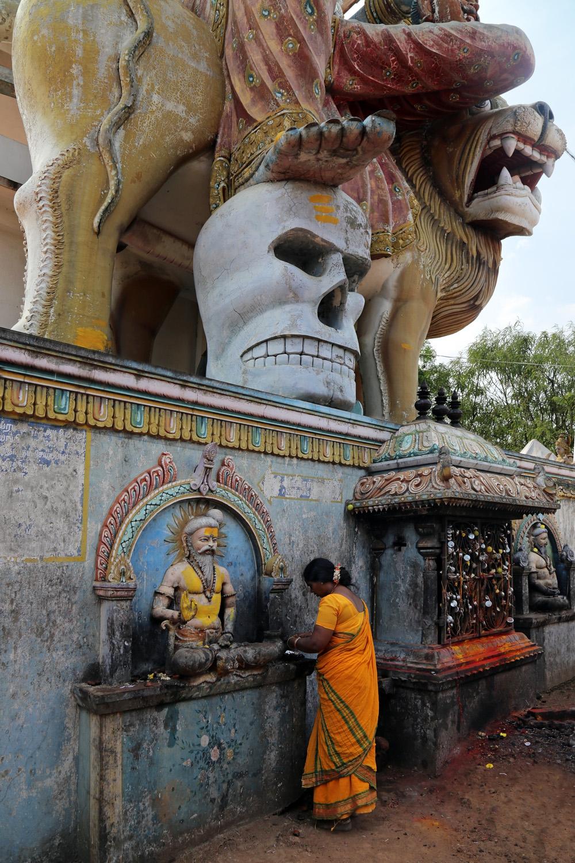 18-kaliA Kali temple,  Tamil Nadu, India, 2018