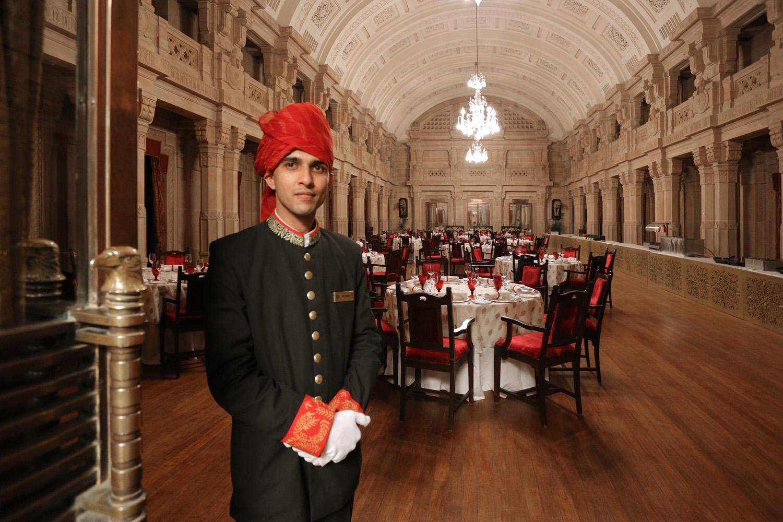 18-palacediningroom Umaid Bahwan Palace,  Jodhpur, India, 2018