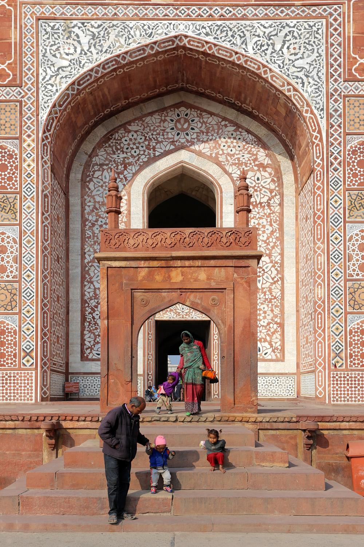 18-sikandraA Sikandra Mausoleum,  Agra, India, 2018