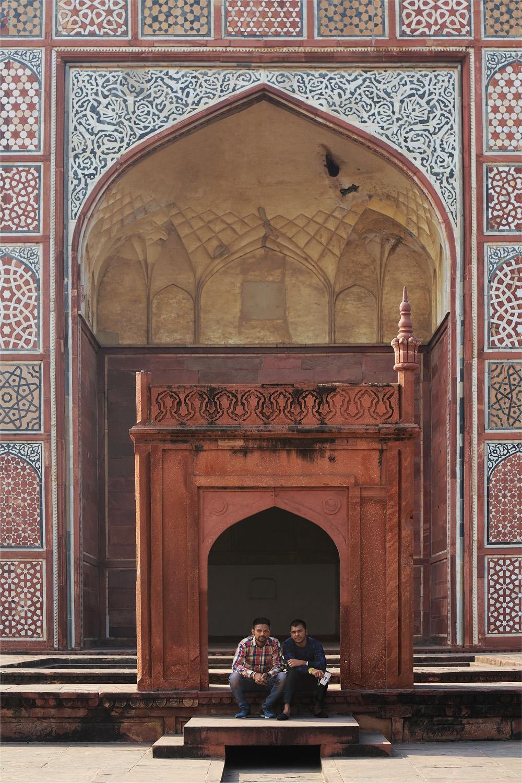 18-sikandraD Tomb of Akbar the Great,  Sikandra Fort,  Agra, India, 2018