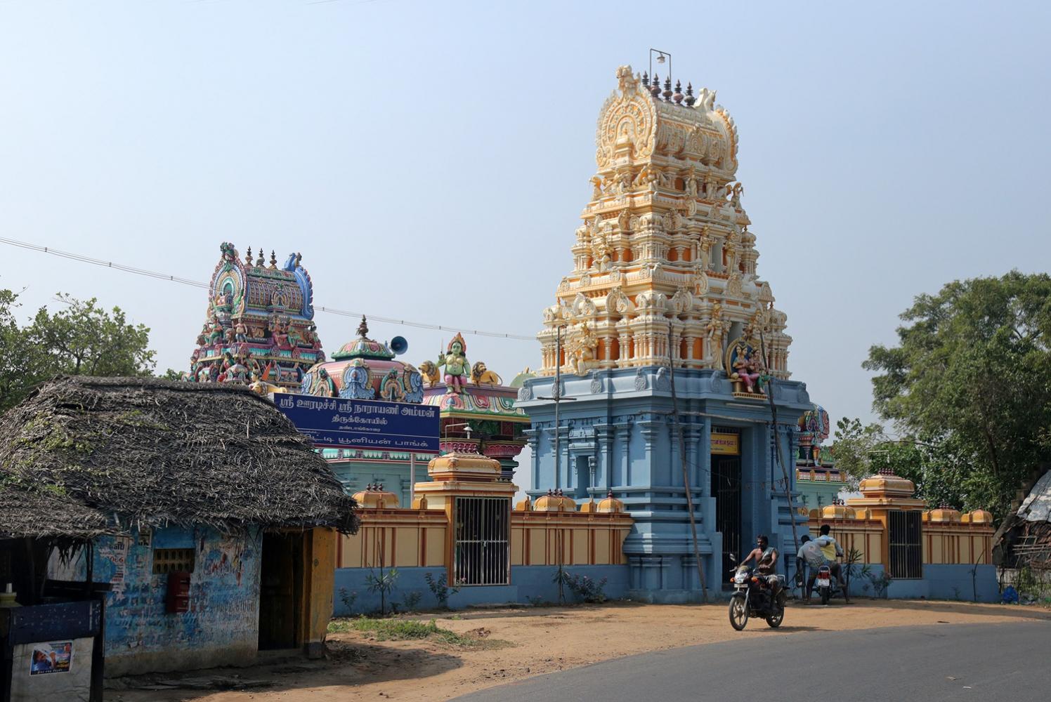 18-tamiltempleA Tamil Temple,  Tamil Nadu, India, 2018