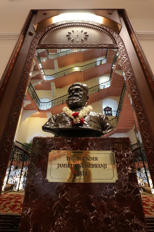 18-tatabust Founder Tata,  Taj Palace Hotel,  Mumbai, India, 2018