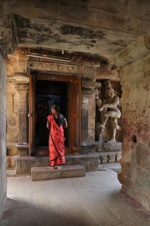 18-templeredsari Gangai Konda Cholapuram Shiva Temple,  Tamil Nadu, India, 2018