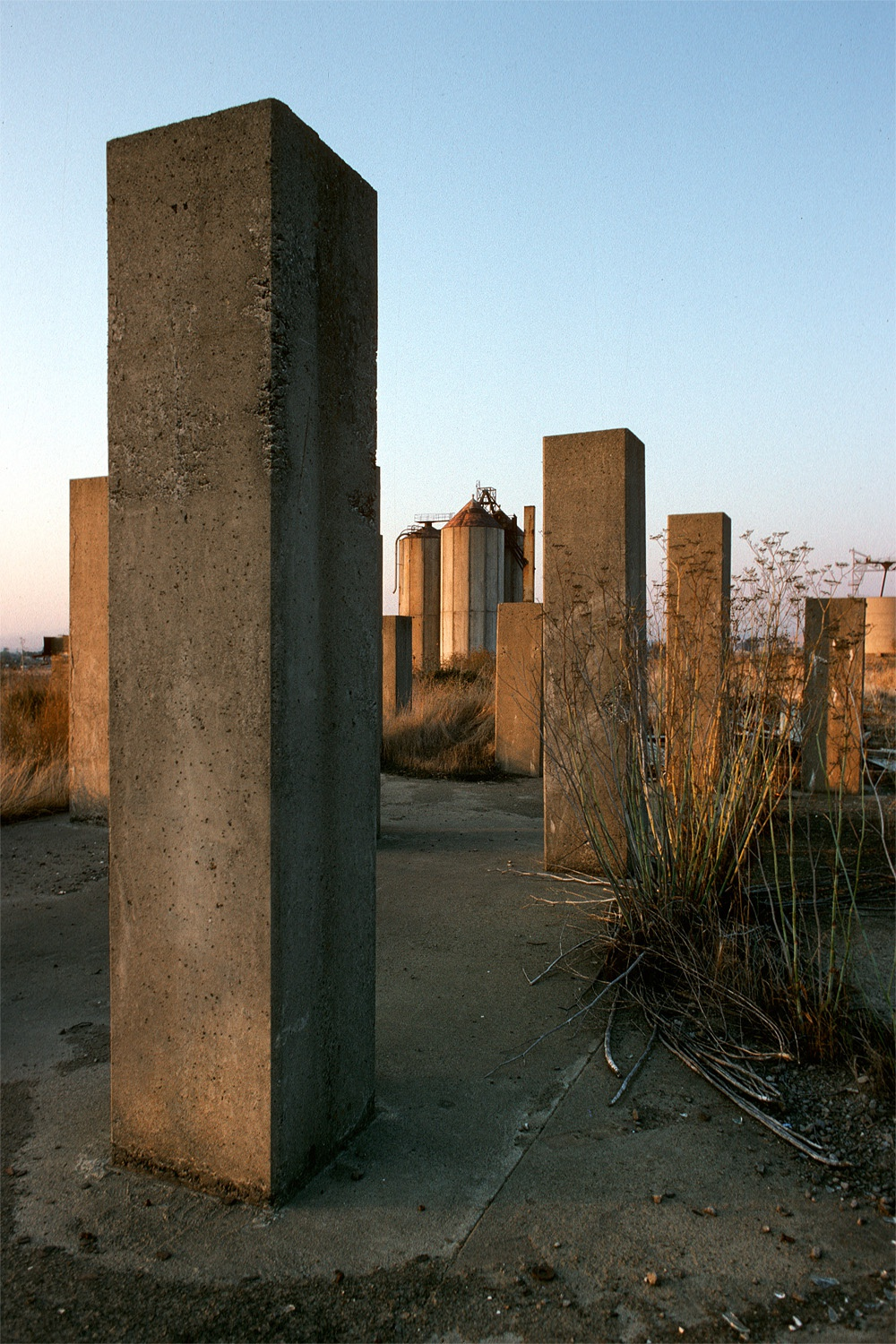 cementG Cement Factory,  American Canyon, California, 1994