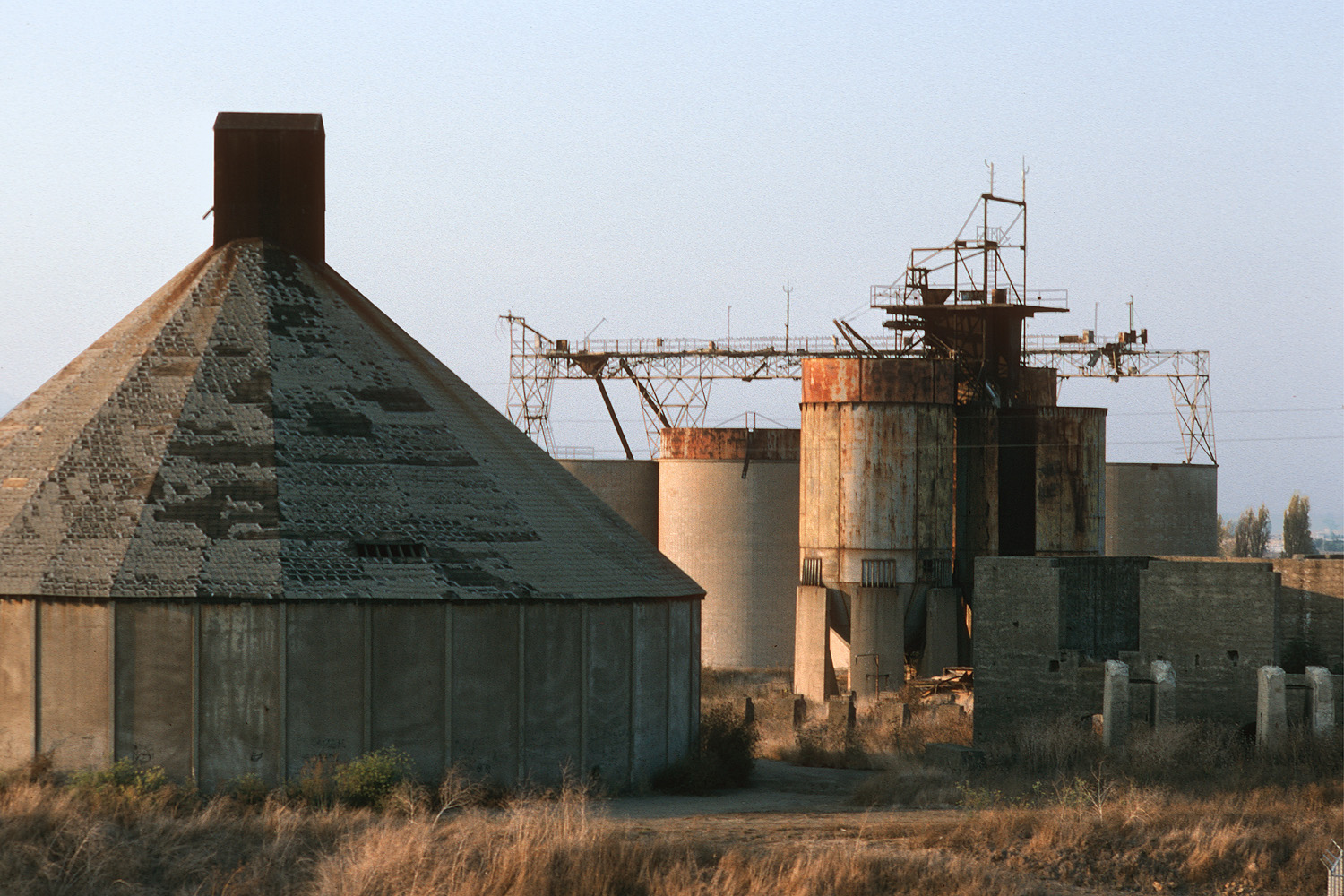 cementW Cement Factory,  American Canyon, California, 1994
