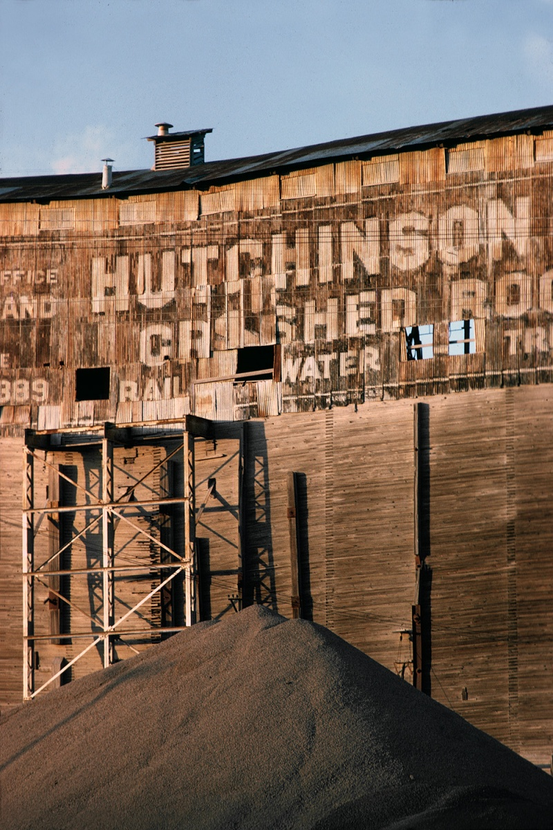 hutchinson Gravel Quarry, Larkspur Landing, California, 1975