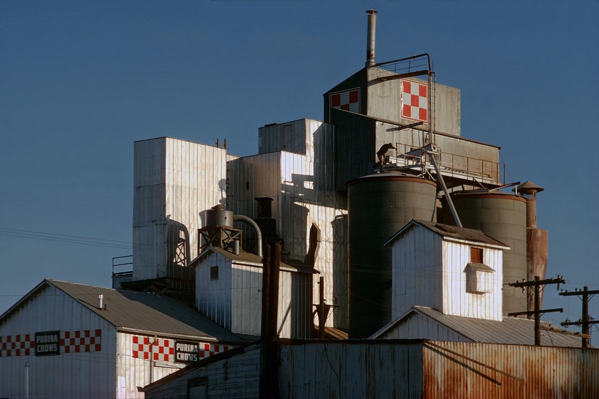 purina Feed Mill, Near Great Falls, Montana, 1972