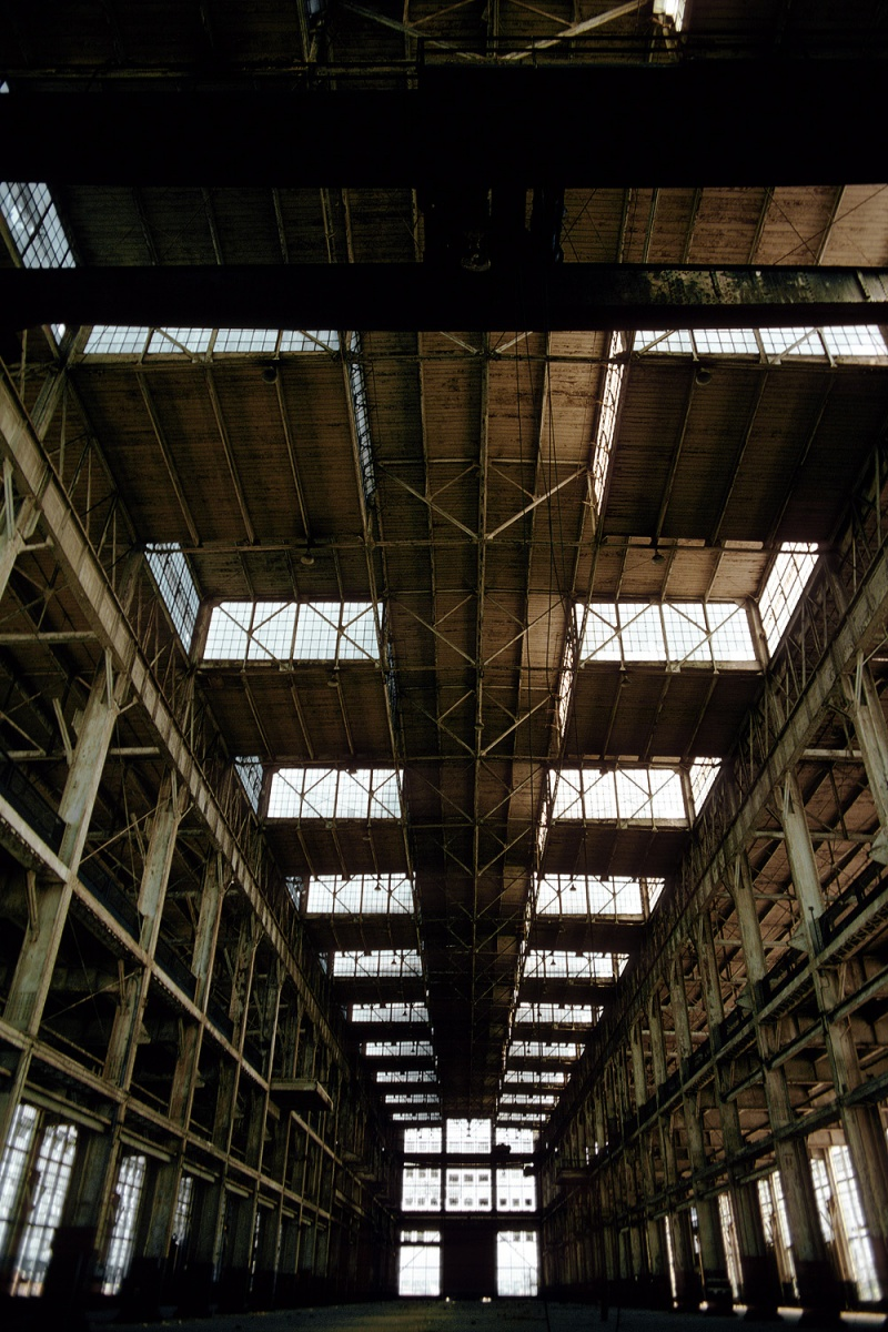 skylights Former Factory, Alemeda, California, 1978
