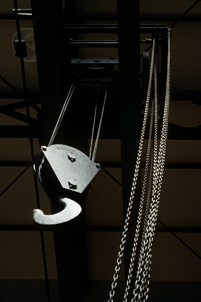 crane Hoist, San Francisco, California, 1974