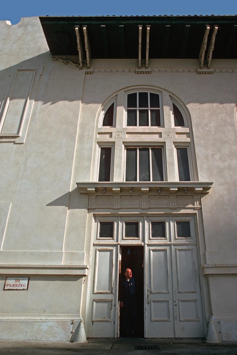entrance Entry, San Francisco, California, 1974