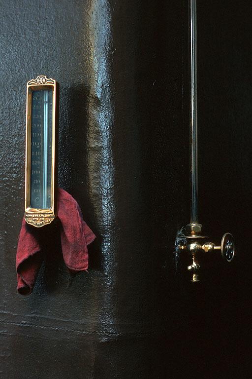 thermometer Boiler Thermometer, San Francisco, California, 1974