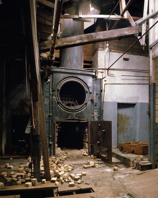 boiler Cannery Boiler, Monterey, California, 1979