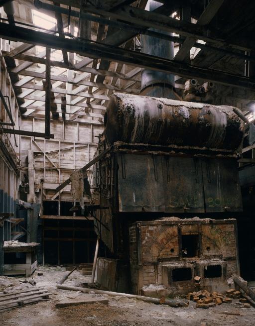 thirdboiler Cannery Boiler, Monterey, California, 1979
