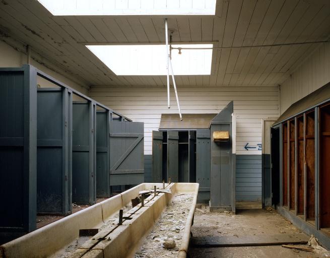 washroom Cannery Washroom, Monterey, California, 1979