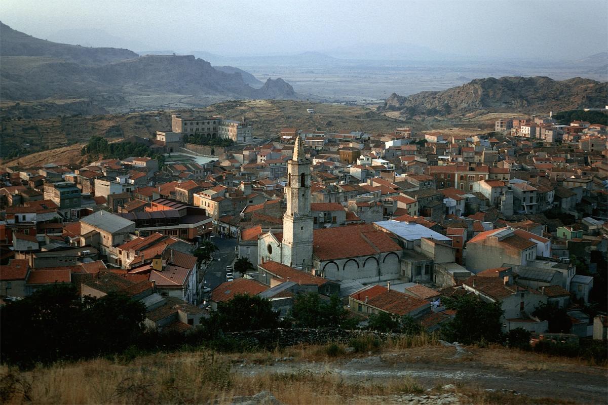 bonorva Townscape,  Bonorva, Sardinia, 1984