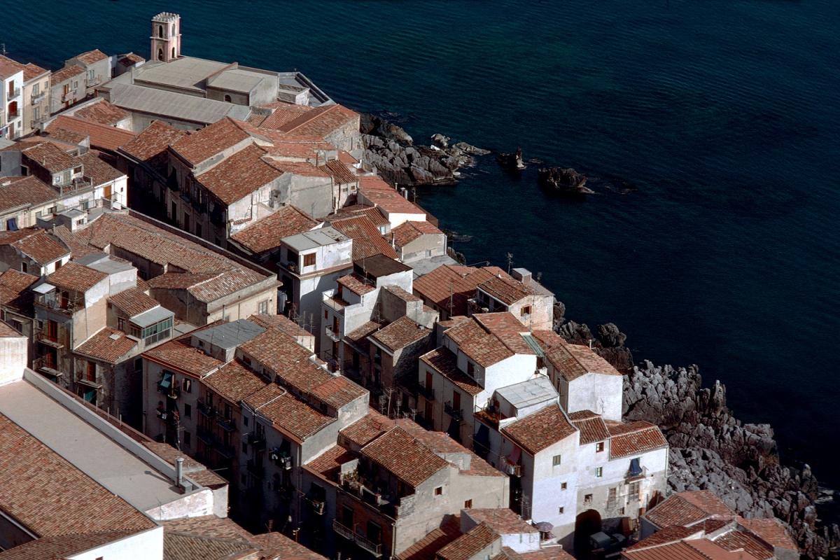 coastline City Limits, Cefelù, Sicily, 1984