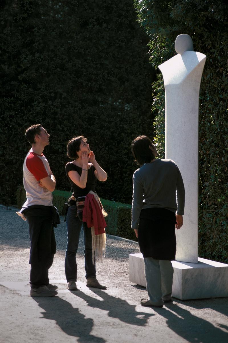 giacometti Giacometti Sculpture, Pitti Palace,  Florence, Italy, 2004