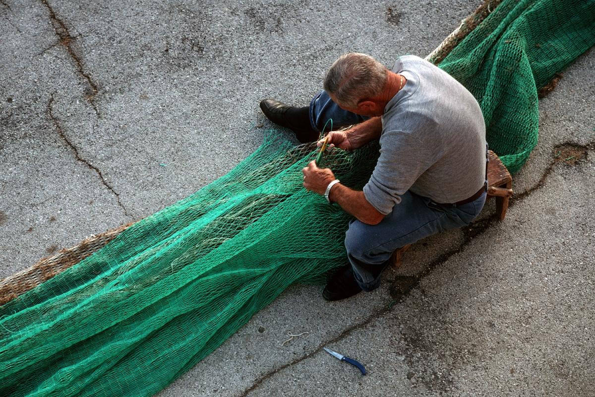 greennet Fisherman,  Trani, Italy, 2000