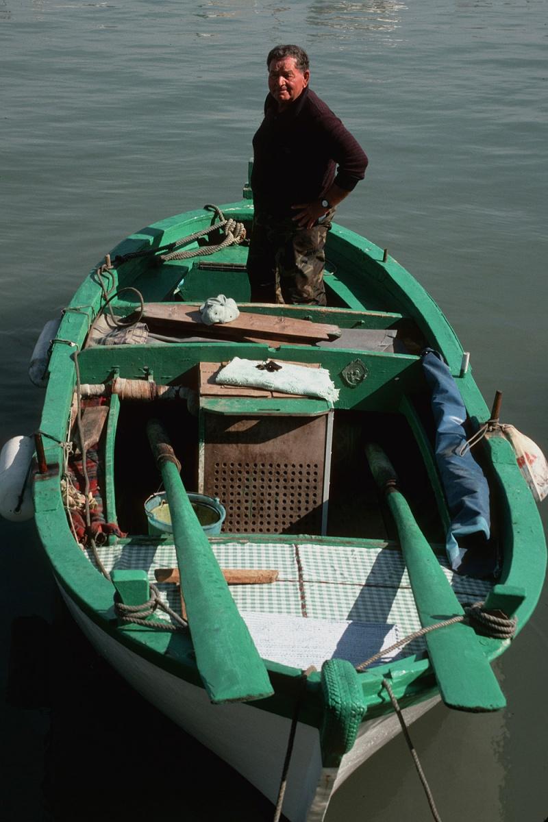 oars Fisherman,  Trani, Italy, 2000