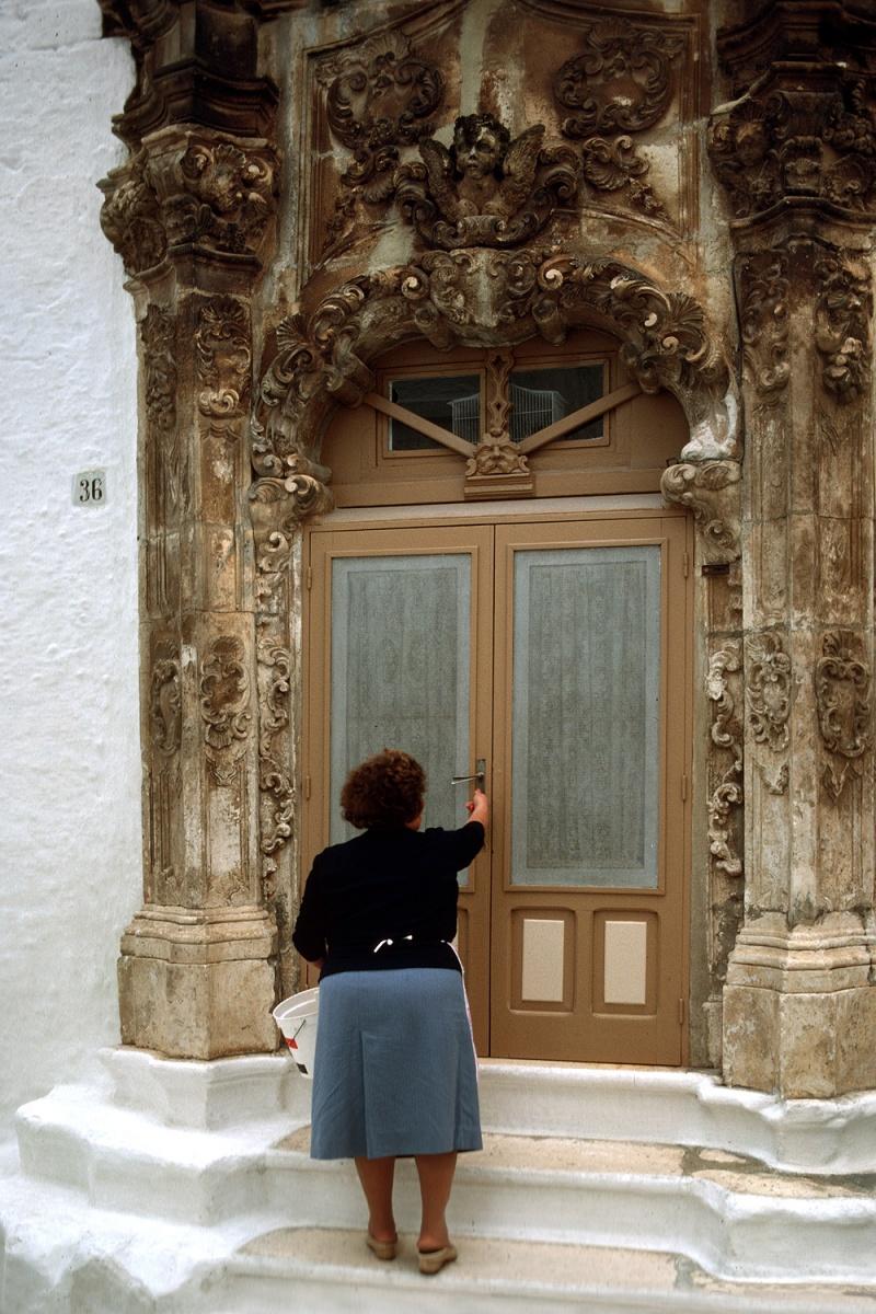 ostunidoor Doorway,  Ostuni, Italy, 1986