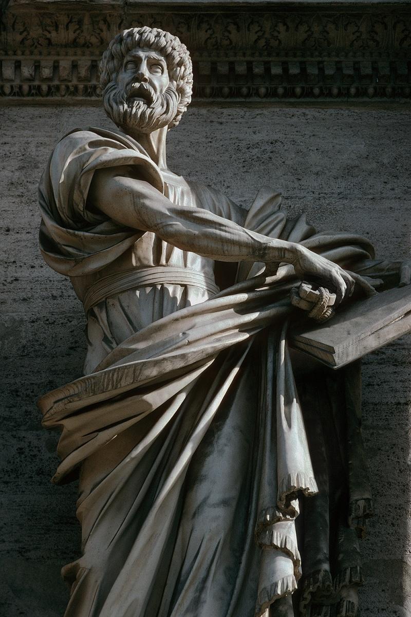 popolostatue Piazza del Popolo,  Rome, Italy, 2006