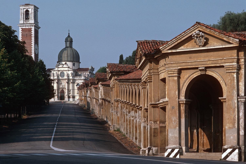 vicenzagalleria Portico, Monte Berico Basilica,  Vicenza,  Italy, 1986