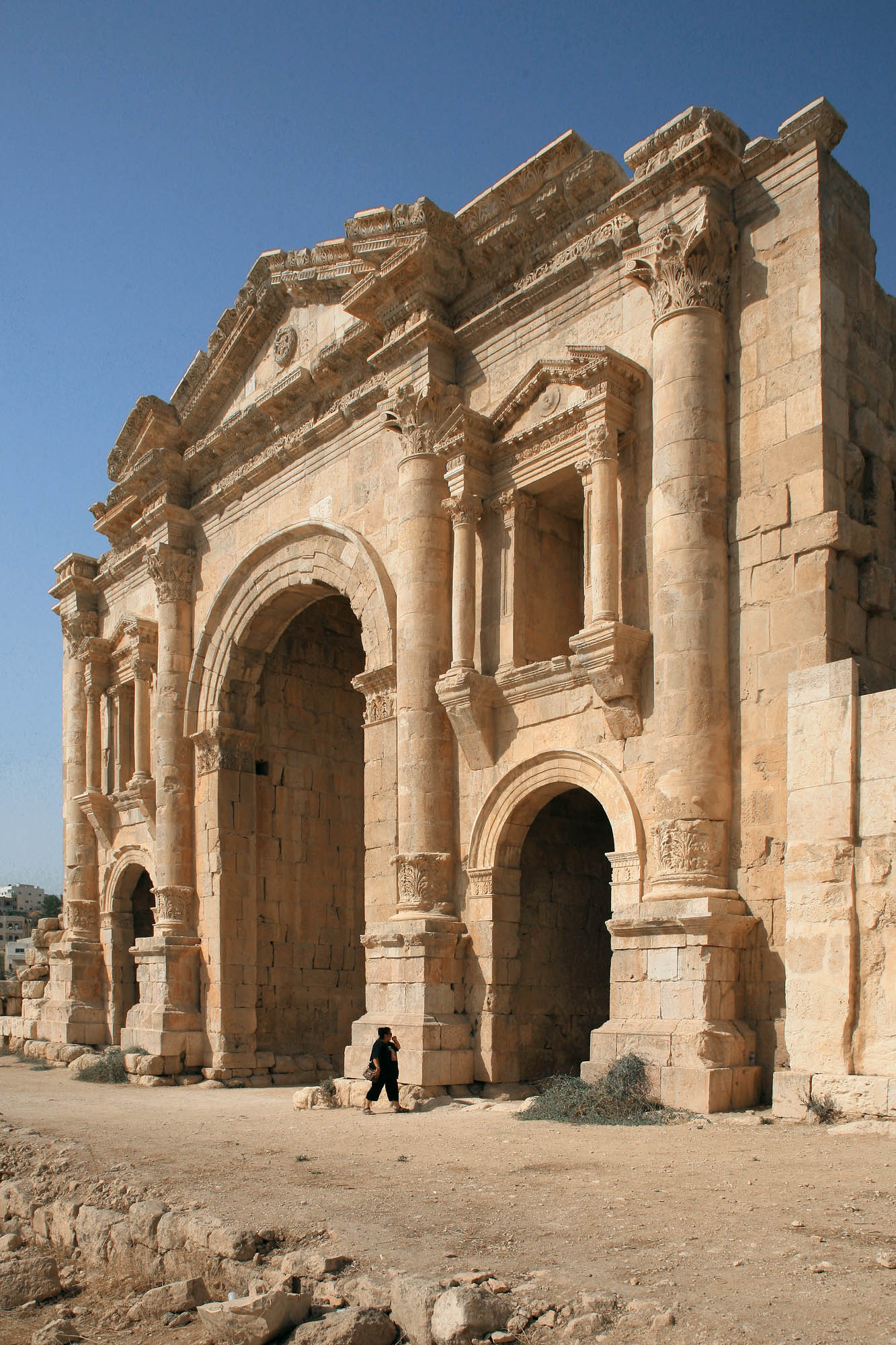 jerasharch Entry Gate, Jerash, Jordan, 2008