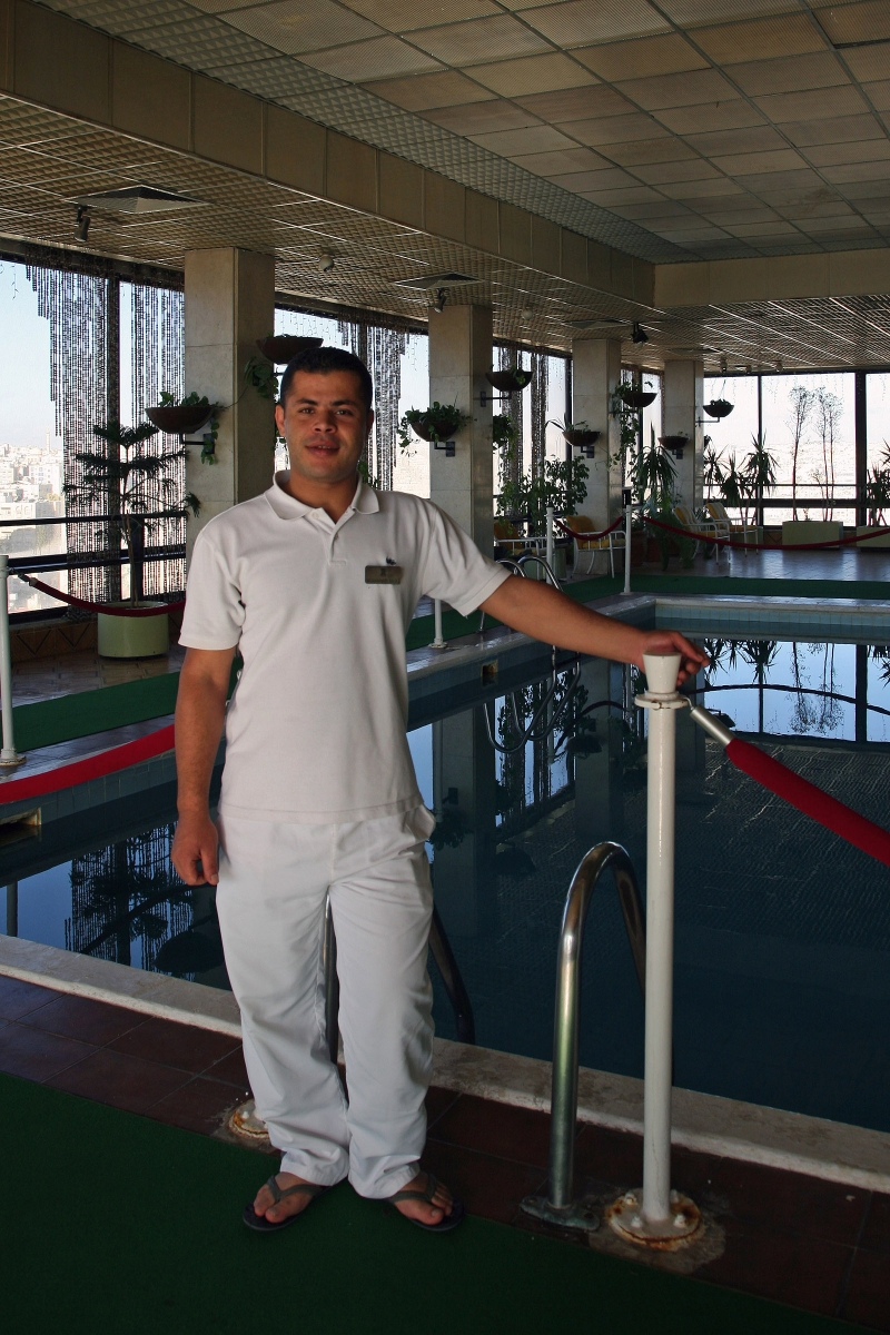poolattendant Pool Attendant, Amman, Jordan, 2008