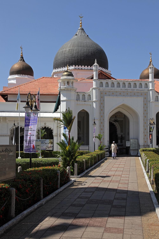 penangmosque Kapitan Keling Mosque,  Penang, Malaysia, 2014