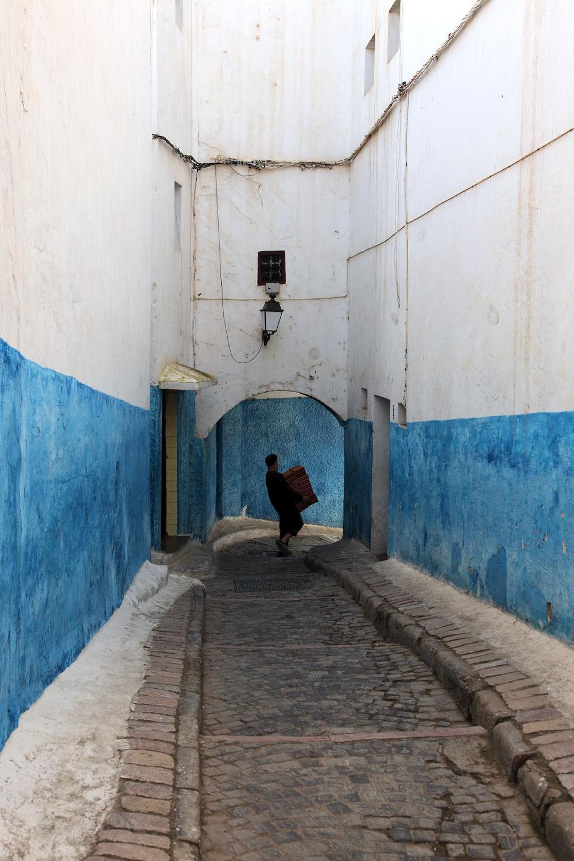bluewainscot Oudayas Kasbah,  Rabat, Morocco, 2013