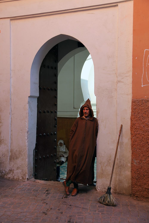 doorbroom Marrakech, Morocco, 2012