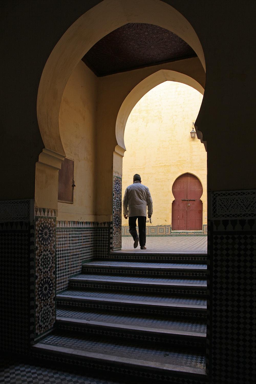 gardian Mausoleum of Mouley Idriss,  Meknes, Morocco, 2013