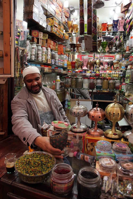 incenseshop Incense Shop,  Fes el Bali, Morocco, 2013